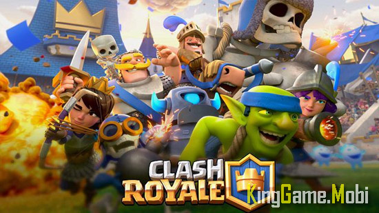 Clash Royale top game chien thuat andorid - Top 10 Game Chiến Thuật Hay Cho Android