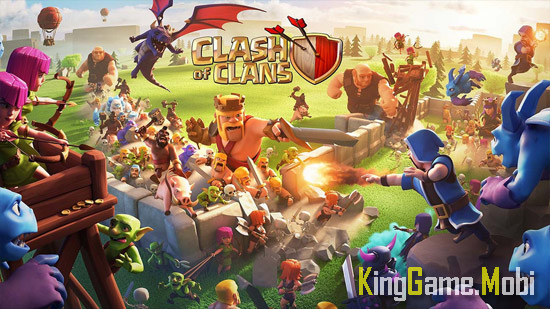 Clash of Clans top game chien thuat android - Top 10 Game Chiến Thuật Hay Cho Android