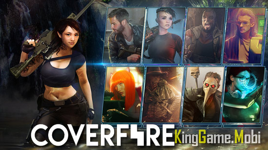 Cover Fire top game ban sung mobile - Top Game Bắn Súng Mobile Hay Nhất 2021
