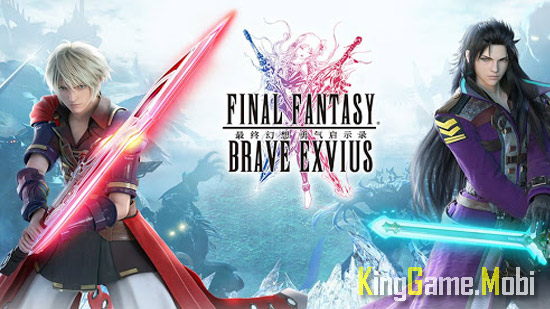 Final Fantasy Brave Exvius - Top Game Anime Hay Nhất Cho Android