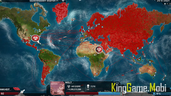 Plague Inc top game chien thuat android - Top 10 Game Chiến Thuật Hay Cho Android