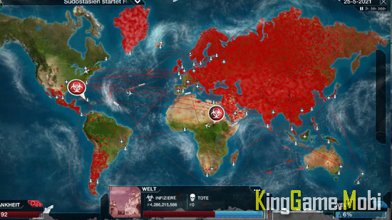 Plague Inc top game offline android - Top 10 Game Offline Cho Android Hay 2021