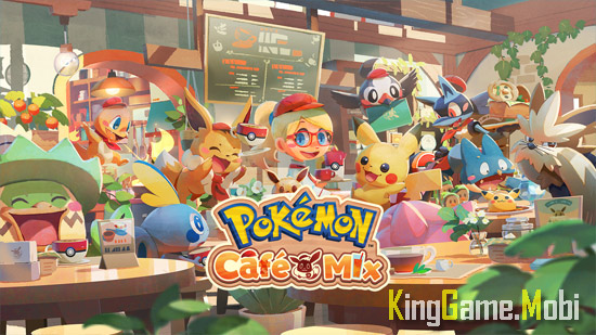 Pokemon Cafe Mix top 9 tren android - Top Game Pokemon Hay Nhất Cho Android