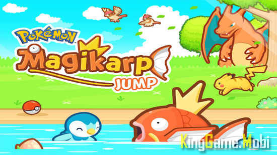 Pokemon Magikarp Jump top 5 tren android - Top Game Pokemon Hay Nhất Cho Android