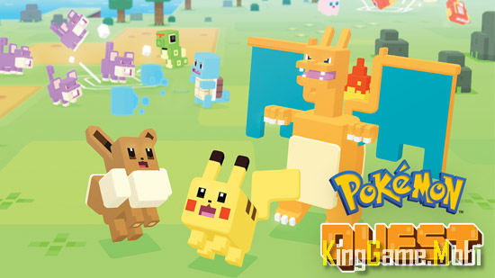 Pokemon Quest top 4 tren android - Top Game Pokemon Hay Nhất Cho Android