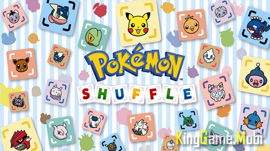 Pokemon Shuffle top 6 tren android - Top Game Pokemon Hay Nhất Cho Android