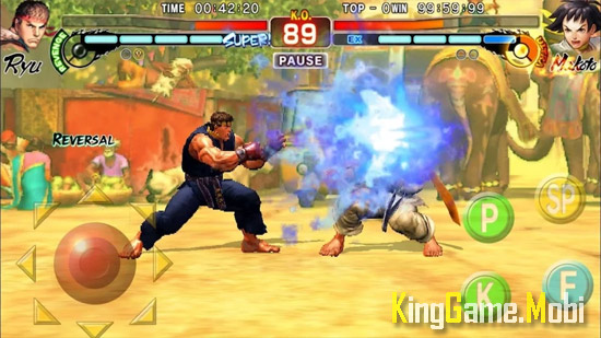 Street Fighter IV Champion Edition top game offline android - Top 10 Game Offline Cho Android Hay 2021