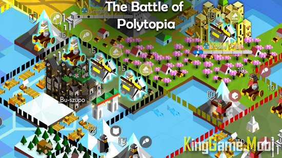 The Battle of Polytopia top game chien thuat android - Top 10 Game Chiến Thuật Hay Cho Android