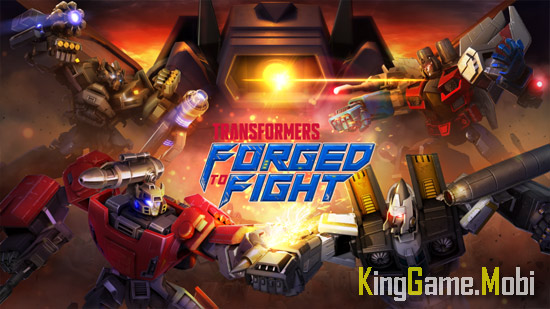 Transformers Forged to Fight top game robot chien dau - Top Game Robot Hay Trên Mobile