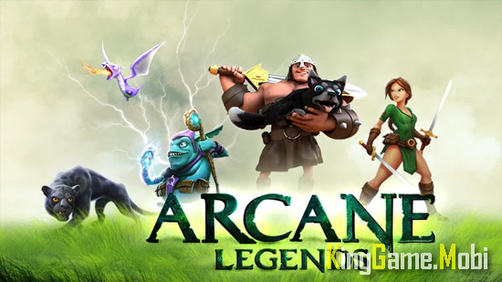Arcane Legends top game chat chem - Top Game Chặt Chém Hay Cho Android