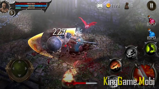 BloodWarrior top game chat chem - Top Game Chặt Chém Hay Cho Android
