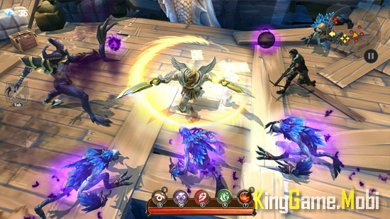 Dungeon Hunter 5 top game chat chem - Top Game Chặt Chém Hay Cho Android