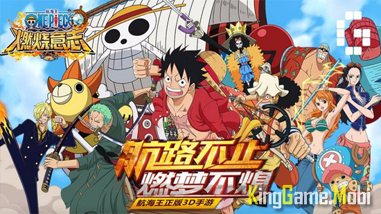 One Piece Burning Will - Top Game One Piece Mobile Hay Nhất