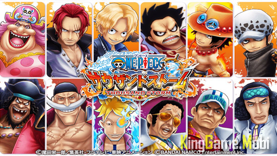 One Piece Thousand Storm - Top Game One Piece Mobile Hay Nhất