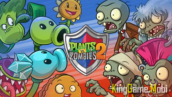 Plants vs Zombies 2 top game zombie mobile - Top Game Zombie Mobile Hay Nhất