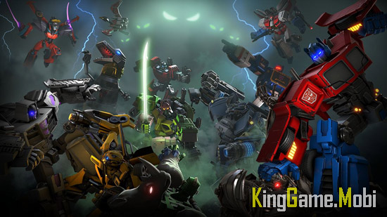 TRANSFORMERS Forged to Fight - Top Game Hành Động Hay Cho Android