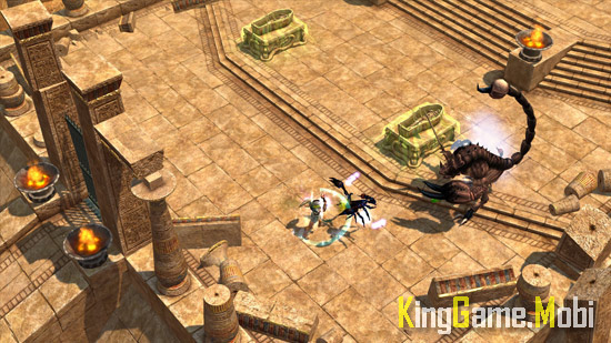Titan Quest top game chat chem - Top Game Chặt Chém Hay Cho Android
