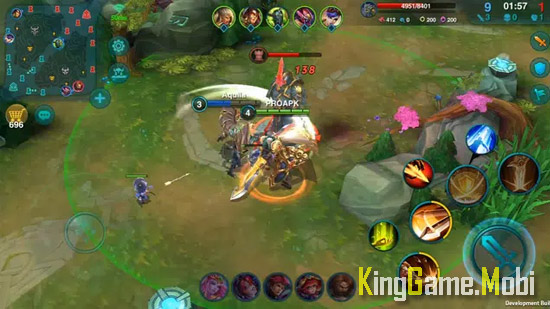 Heroes Arena moba games - Top Game Moba Cho Điện Thoại