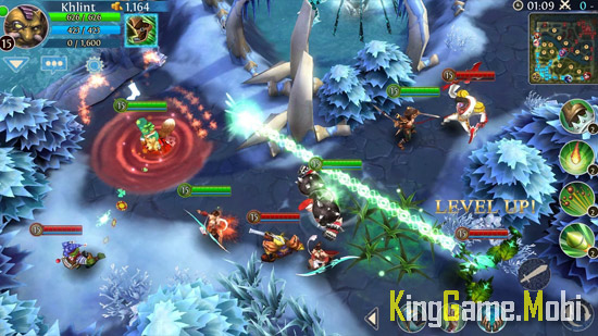 Heroes of Order Chaos - Top Game Moba Cho Điện Thoại