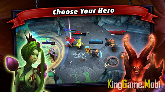 Heroes of SoulCraft MOBA - Top Game Moba Cho Điện Thoại