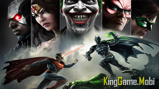 Injustice Gods Among Us 2 - Top 15 Game Đối Kháng Hay Cho Android
